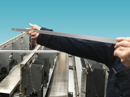 書類・現物管理システムグッドラック セレクトバーの調整